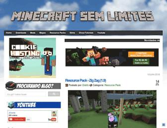 Thumbshot of Minecraftsemlimites.com