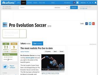 pro-evolution-soccer-demo.en.softonic.com screenshot