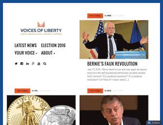 Thumbshot of Voicesofliberty.com