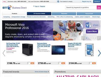 businessdirect.bt.com screenshot