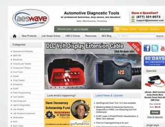 aeswave.com screenshot