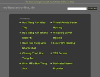 Thumbshot of Hoc-tieng-anh-online.info