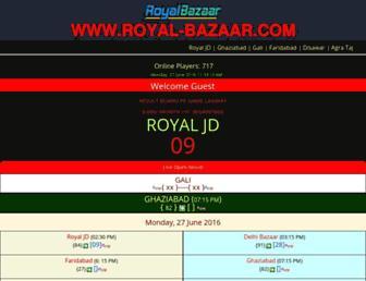 royal-bazaar.com screenshot