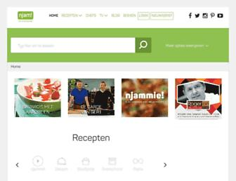 Main page screenshot of njam.tv
