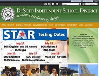 desotoisd.org screenshot