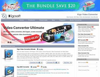 kigo-video-converter.com screenshot