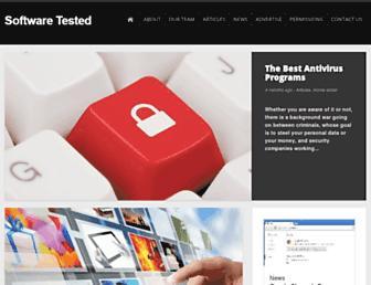 softwaretested.com screenshot