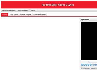 musicvideoswiz.com screenshot