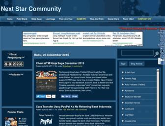 nextstarcommunity.blogspot.com screenshot