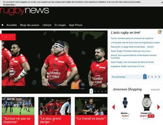 rugbynews.fr screenshot