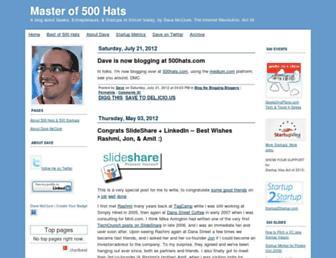 Thumbshot of 500hats.typepad.com