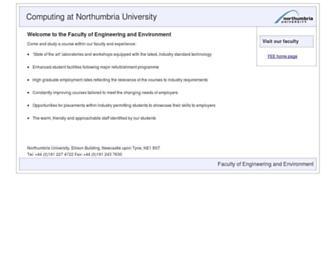 computing.unn.ac.uk screenshot