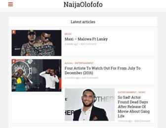 naijaolofofo.com screenshot