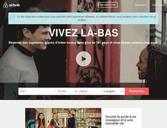 airbnb.fr screenshot