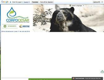 corpocesar.gov.co screenshot