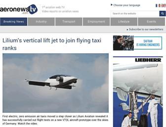 aeronewstv.com screenshot