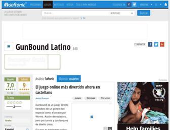 gunbound-latino.softonic.com screenshot