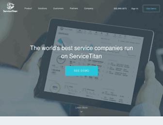 servicetitan.com screenshot