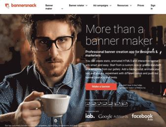 bannersnack.com screenshot