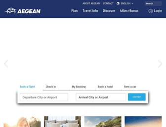 Thumbshot of Aegeanair.com