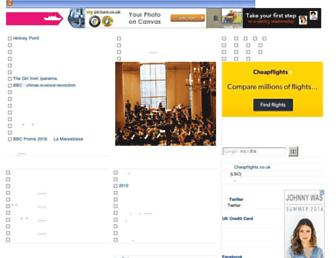 Main page screenshot of lkcn.net