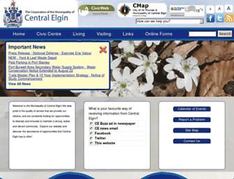 centralelgin.org screenshot