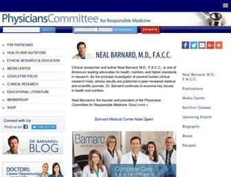Thumbshot of Nealbarnard.org