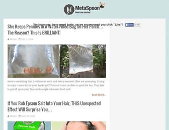Thumbshot of Metaspoon.com