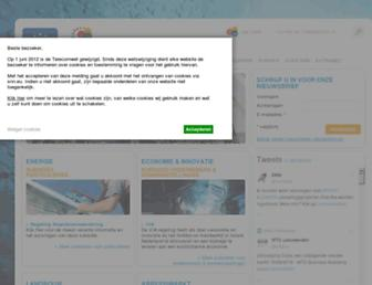 Main page screenshot of snn.eu