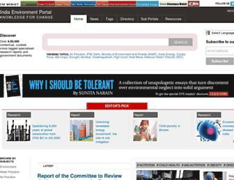 Thumbshot of Indiaenvironmentportal.org.in