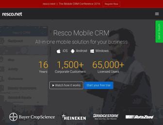 resco.net screenshot