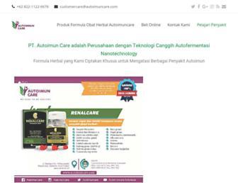 autoimuncare.com screenshot