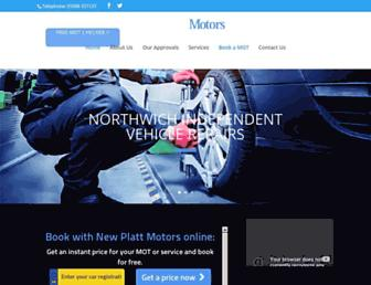 newplattmotors.com screenshot