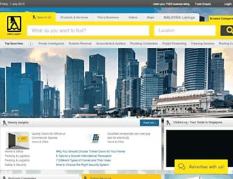 Thumbshot of Yellowpages.com.sg