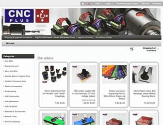 cnc-plus.de screenshot
