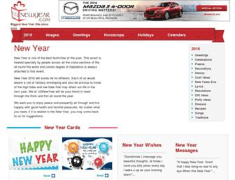 Thumbshot of 123newyear.com