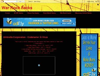 warrockcamp.blogspot.com screenshot