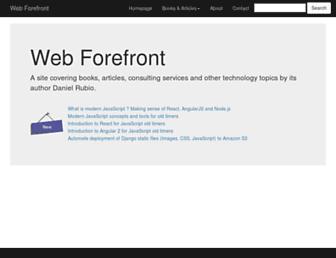 webforefront.com screenshot