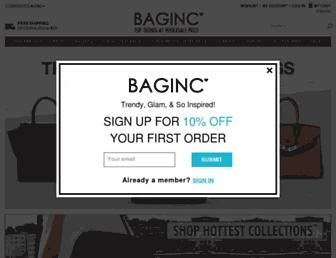 Thumbshot of Baginc.com