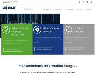 ainur.es screenshot