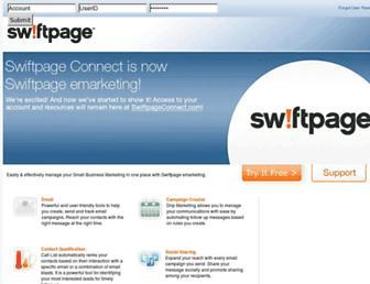 swiftpageconnect.com screenshot