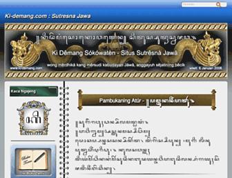 ki-demang.com screenshot