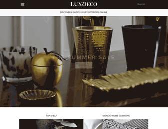 luxdeco.com screenshot