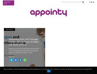 blog.appointy.com screenshot