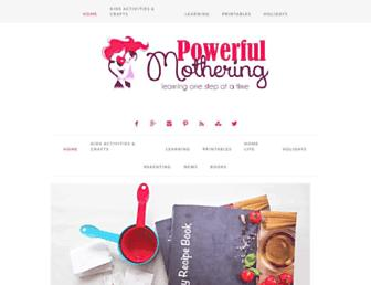 Thumbshot of Powerfulmothering.com