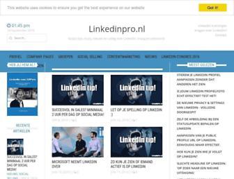 linkedinpro.nl screenshot