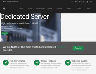 nxhost.net screenshot