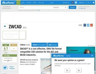 zwcadzwsoft.en.softonic.com screenshot