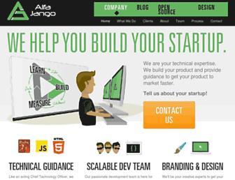 Thumbshot of Alfajango.com