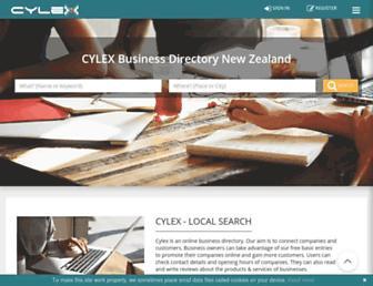 cylex.co.nz screenshot